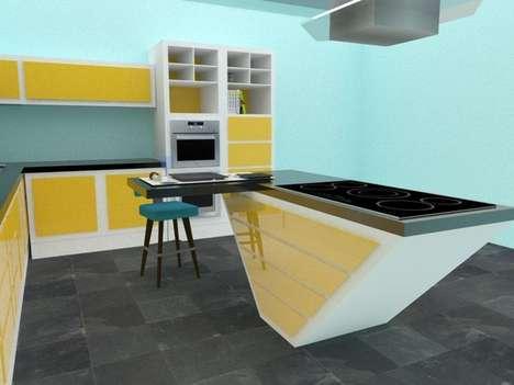Retro Modular Kitchens
