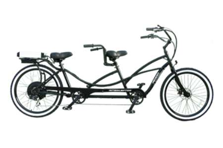 Electric Two-Rider Bicycles