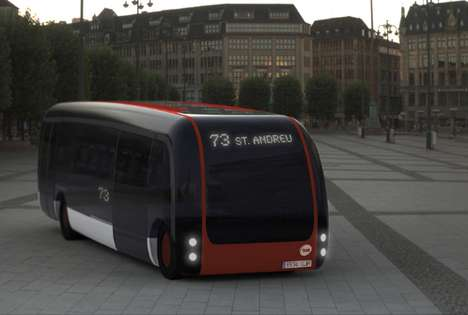 Hi-Tech Public Transit - The B2us Hybrid Bus is a Smart Way to Commute