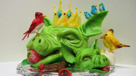 Realistic Avian Confections