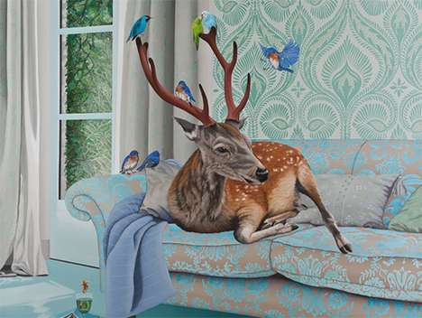 Pet-Personifying Paintings