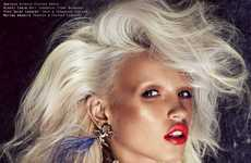 Bronzed Bombshell Photography -  This Steven Chee Anja Konstantinova Editorial Epitomizes Glamour