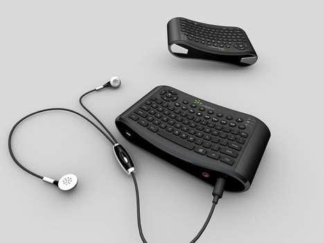 Floating Wireless Typewriters