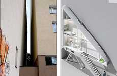 Ridiculously Skinny Residences - Jakub Szczesny Designs the World's Narrowest House
