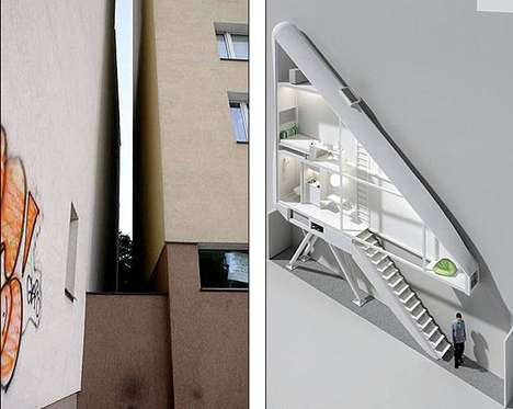 Ridiculously Skinny Residences