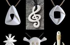 Bone-Carved Pendants