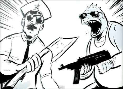 Axe Cop is a Comic Full of Magic and Fierce Fights