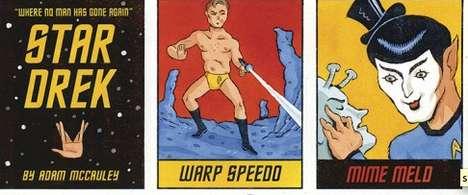 Punny Sci-Fi Cartoons