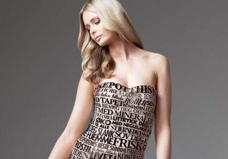 Headlining Text Dresses