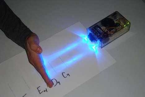 DIY Electro-Laster Instruments