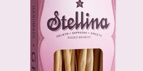 The Stellina Packaging is Cheery and Bright Like the Store