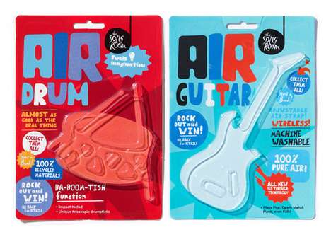 Literal Air Band Branding - The Song Room Air Instruments Open Your Eyes to Musical Education