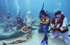 Aquatic Conservation Concerts - Florida's Underwater Music Festival Promotoes Responsible Ocean Use