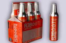 PC-Inspired Packaging - Reboot Energy Branding Turns Tired Bodies Back On