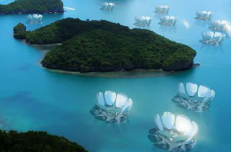 Floating Floral Solar Farms