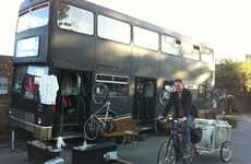 Bike-Lending Double Deckers - The Bicycle Library Rents Out Two-Wheelers From a Converted Bus
