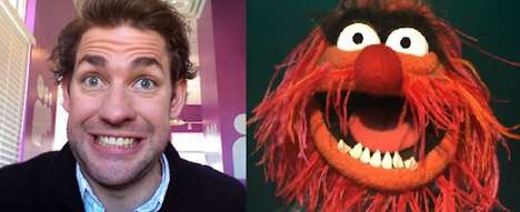 Celebrity Puppet Pairings - The Muppets That Look Like John Krasinski Series is Scarily Accurate