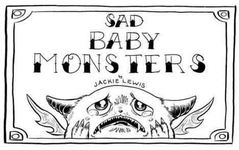 Adorable Monster Illustrations