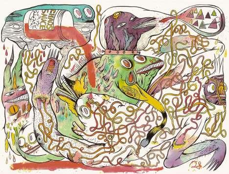 Heavy Hallucinatory Illustrations