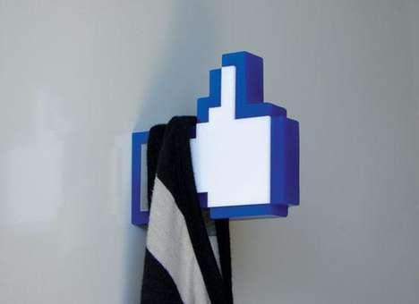 Social Media Icon Racks