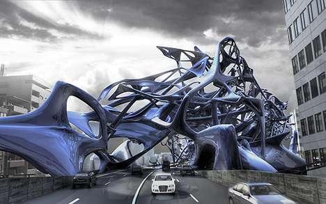 Tangled High-Traffic Viaducts
