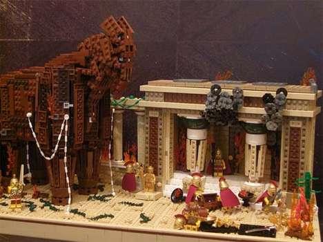 LEGO Trojan Reenactments