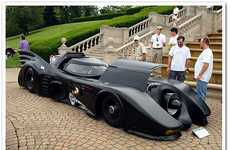 Supercharged Superhero Vehicles - The Putsch Racing Turbine Engine-Powered Batmobile is Striking