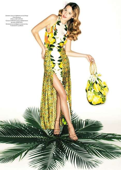 Fruity Fashion Editorials