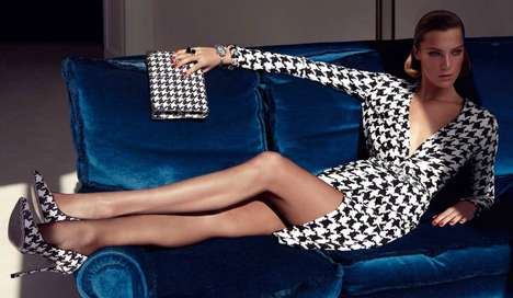 Head-to-Toe Houndstooth