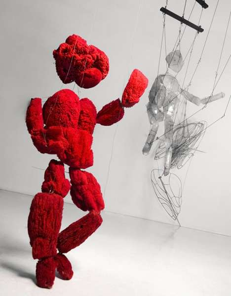 Antonio Barros Carvalho Creates Stringed Puppets With Lab Equipment