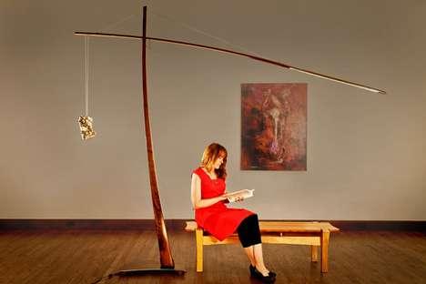 Dramatic Dangling Lamps