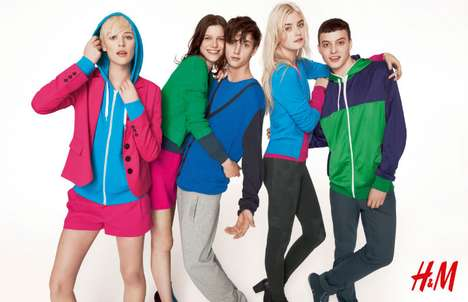 The H&M Divided Fall 2011 Campaign is Playful and Fun