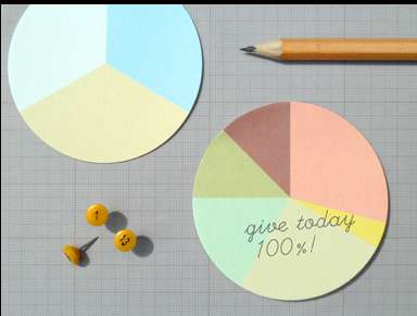 Pie Chart Stickies