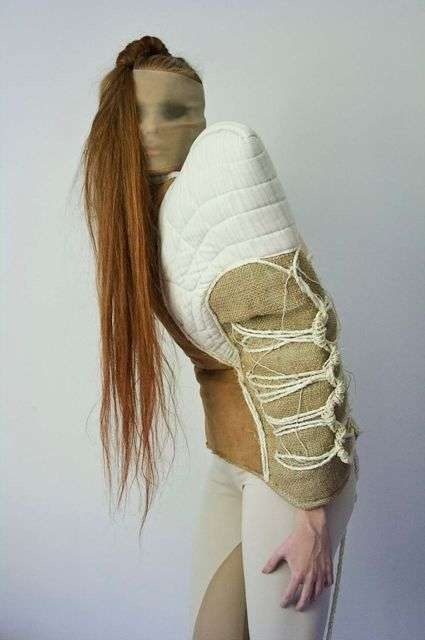 Eccentrically Constrained Couture - This Earthy Shibari Wear by Astrid Tirlea is Shame-Free