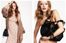 Upscale Sensual Shoots - The Juicy Couture Fall Lookbook is Stylish and Sultry