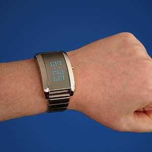 Cryptic Metallic Timepieces