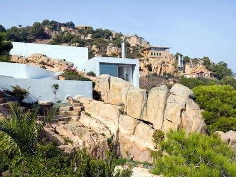 Spanish Cliffside Abodes