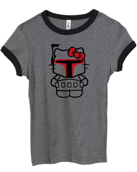 Adorable Bounty Hunter Tees