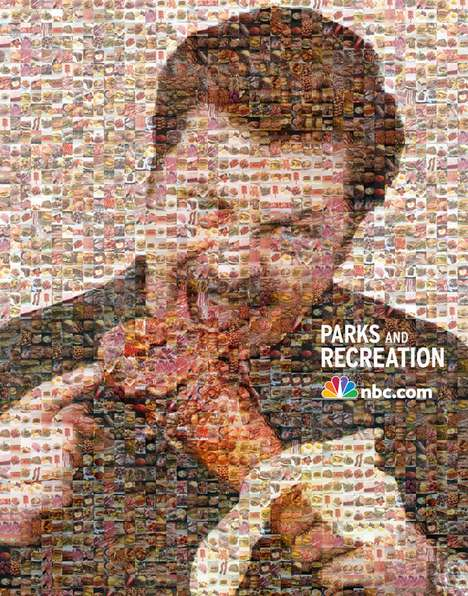 Food Pixelation Portraits