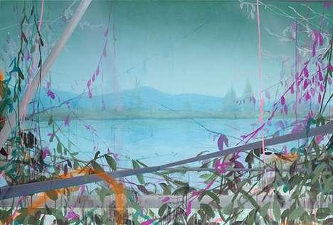 Hazy-Hued Artwork