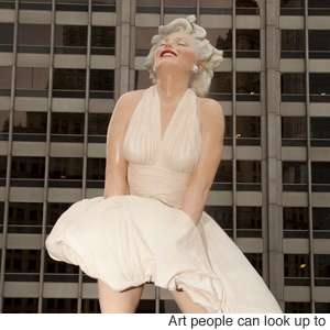 Seward Johnson Unviels 26-Foot Sculpture of Marilyn Monroe
