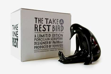 'Take a Rest' Sculpture Black Edition Marks the Series Finale