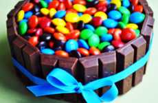 Chocofied Bonbon Baking - This Candy Bar Cake is a Succulent Medley of Recognizable Treats