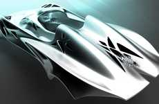 Laser-Cut Car Concepts - Hitesh Panchal's Jaguar Light is Super Fast and Uniquely Decorated