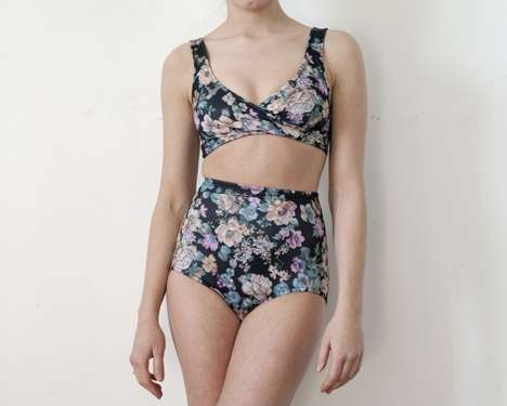 High-Waisted Hipster Swimwear (UPDATE)