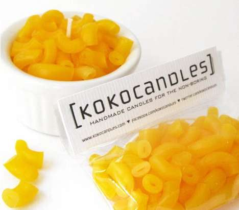 Cheesy Creamy Candles - Kokocandles Creates a DYI Mac and Cheese Candle
