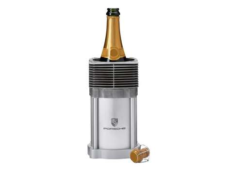 Avoid Warm Alcohol with the Porsche Design Bottle Cooler
