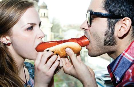 Suggestive Food Photoshoots