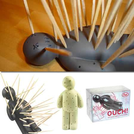 Top 8 Voodoo Products + Ouch Tooth Pick Holder