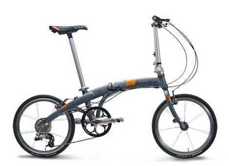 Folding Bike Weighs Under 20lbs